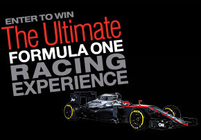 Enter to win the Ultimate Formula One Racing Experience
